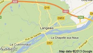 Plan de Langeais