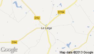 Plan de Le Liège