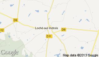 Plan de Loché-sur-Indrois