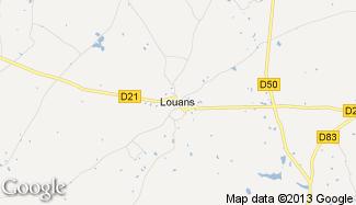 Plan de Louans