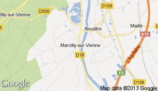 Plan de Marcilly-sur-Vienne