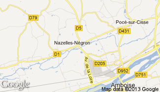 Plan de Nazelles-Négron