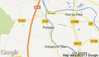 Plan de Pussigny