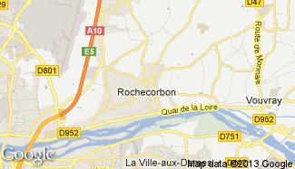 Plan de Rochecorbon