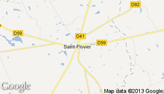 Plan de Saint-Flovier