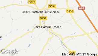 Plan de Saint-Paterne-Racan