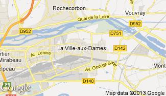 Plan de La Ville-aux-Dames