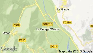 Plan de Le Bourg-d'Oisans