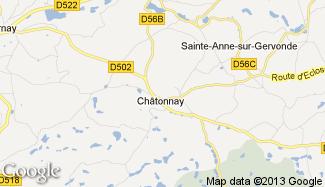 Plan de Châtonnay