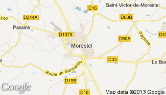 Plan de Morestel