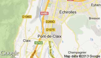 Plan de Le Pont-de-Claix