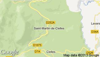 Plan de Saint-Martin-de-Clelles