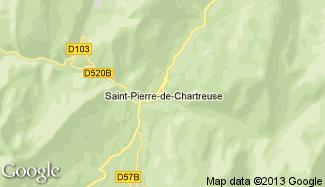 Plan de Saint-Pierre-de-Chartreuse