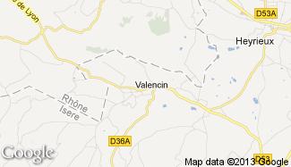 Plan de Valencin