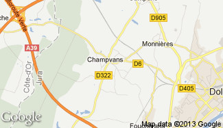 Plan de Champvans