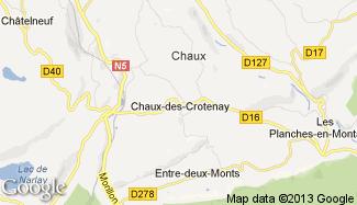 Plan de Chaux-des-Crotenay