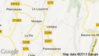 Plan de Lavigny
