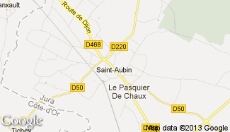 Plan de Saint-Aubin