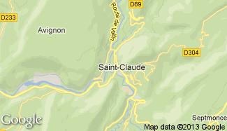 Plan de Saint-Claude
