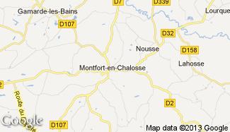 Plan de Montfort-en-Chalosse