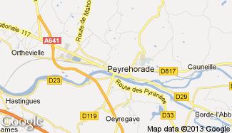 Plan de Peyrehorade