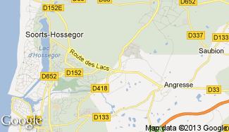 Plan de Soorts-Hossegor