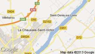 Plan de La Chaussée-Saint-Victor