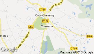 Plan de Cheverny
