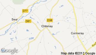 Plan de Chitenay