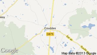 Plan de Couddes