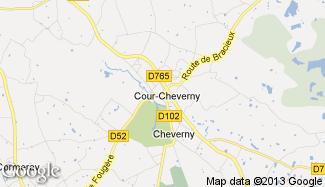 Plan de Cour-Cheverny