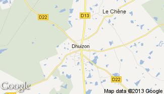 Plan de Dhuizon