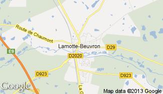Plan de Lamotte-Beuvron