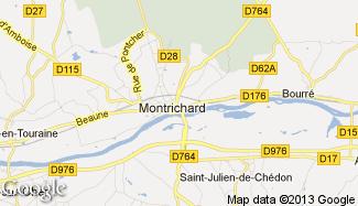 Plan de Montrichard