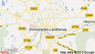 Plan de Romorantin-Lanthenay