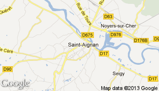 Plan de Saint-Aignan
