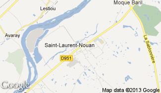 Plan de Saint-Laurent-Nouan