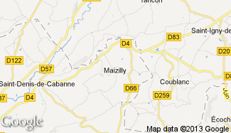 Plan de Maizilly