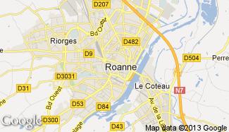 Plan de Roanne