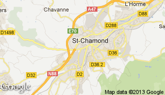 Plan de Saint-Chamond