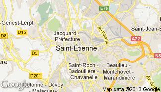 Plan de Saint-Étienne