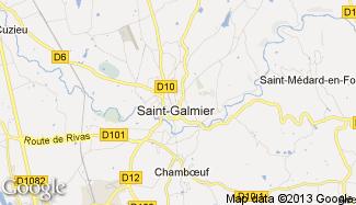 Plan de Saint-Galmier