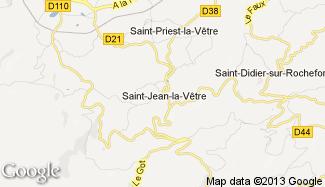 Plan de Saint-Jean-la-Vêtre