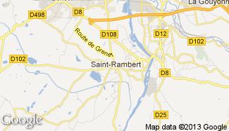 Plan de Saint-Just-Saint-Rambert