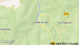 Plan de La Valla-en-Gier