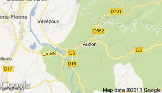 Plan de Auzon