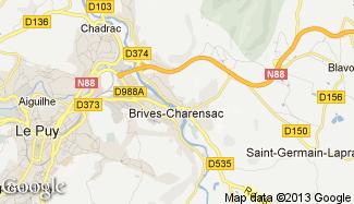 Plan de Brives-Charensac