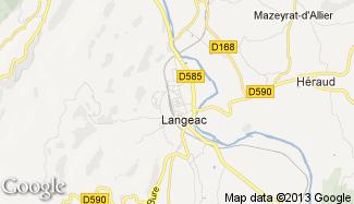 Plan de Langeac