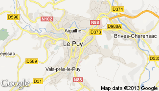 Plan de Le Puy-en-Velay