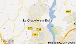 Plan de La Chapelle-sur-Erdre